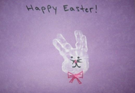 April Handprint Calendar : Handprint calendar