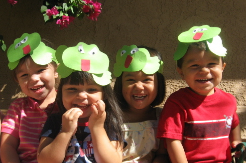 how to make a frog hat