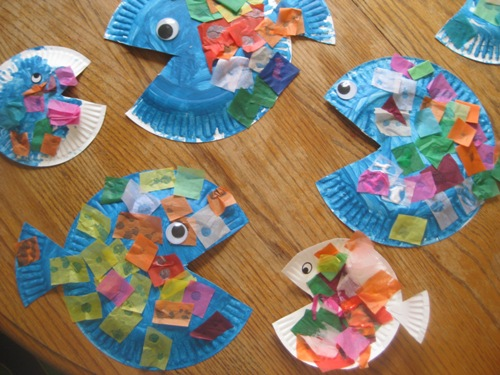 Fish Hat Craft For Preschool Submited Images