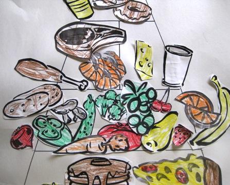 Food Pyramid Art Ideas